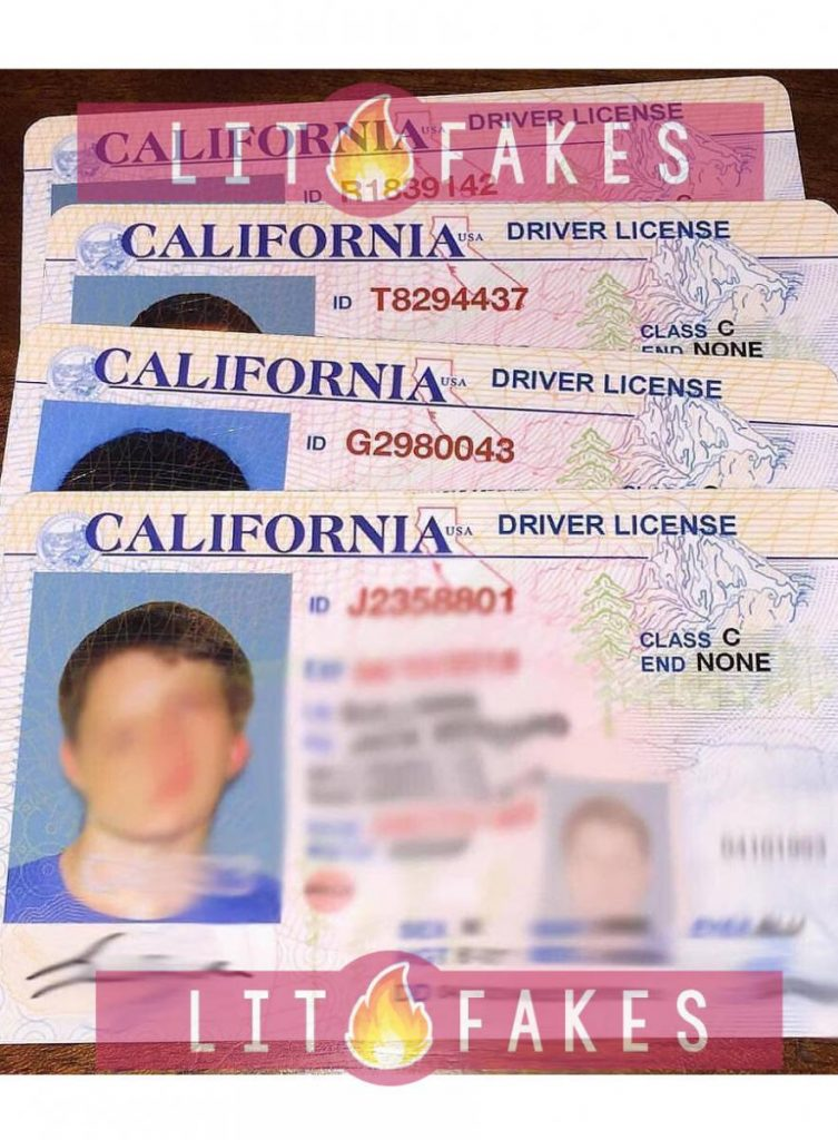 See Proof of Fake ID | Photos of Fake Drivers License