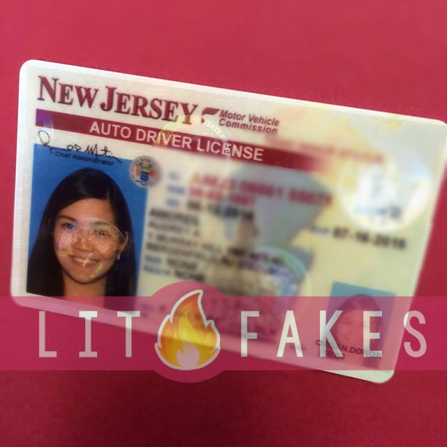 → Fake ID New Jersey | Scannable | SALE NOW ON | 2019 Update