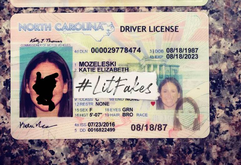 Getting A Florida Drivers License >> Fake ID North Carolina | Scannable | UV| Bend Test | PHOTOS | On Sale!